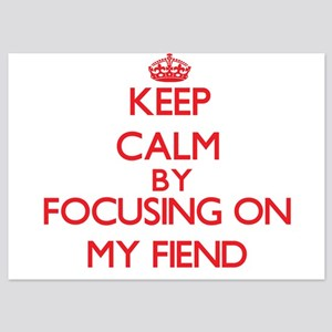 Keep Calm by focusing on My Fiend Invitations