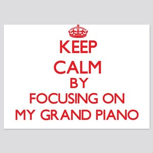 Keep Calm by focusing on My Grand Pian Invitations