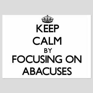 Keep Calm by focusing on Abacuses Invitations