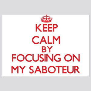 Keep Calm by focusing on My Saboteur Invitations