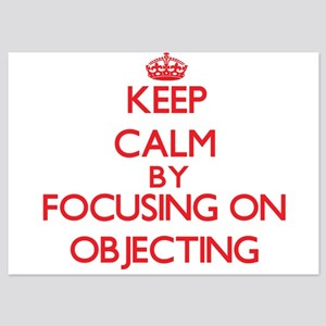 Keep Calm by focusing on Objecting Invitations