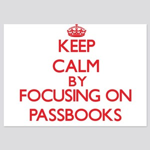 Keep Calm by focusing on Passbooks Invitations