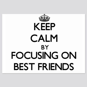 Keep Calm by focusing on Best Friends Invitations