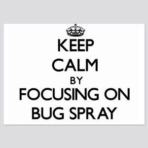 Keep Calm by focusing on Bug Spray Invitations