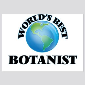 World's Best Botanist Invitations