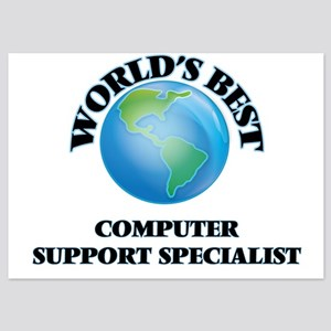 World's Best Computer Support Speciali Invitations