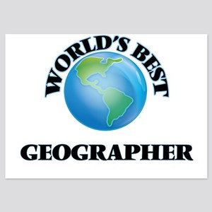 World's Best Geographer Invitations