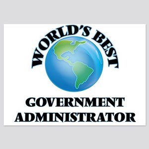 World's Best Government Administrator Invitations