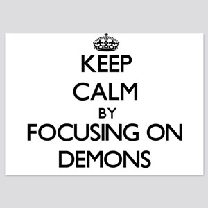 Keep Calm by focusing on Demons Invitations