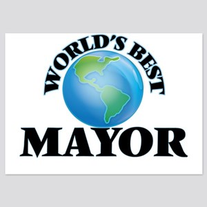 World's Best Mayor Invitations