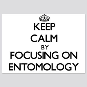 Keep Calm by focusing on ENTOMOLOGY Invitations