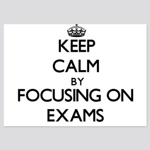 Keep Calm by focusing on EXAMS Invitations
