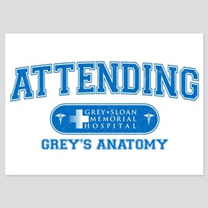 Grey's Anatomy Attending 5x7 Flat Cards
