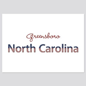 Custom North Carolina 5x7 Flat Cards