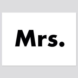 Half of Mr and Mrs set - Mrs Invitations