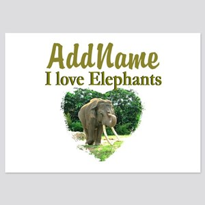 LOVE ELEPHANTS 5x7 Flat Cards