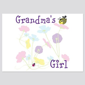 Flower Bees and Lady Bug Flat Cards