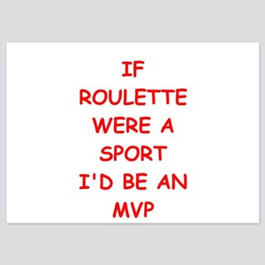 roulette 5x7 Flat Cards