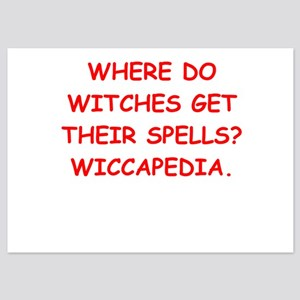 witches 5x7 Flat Cards