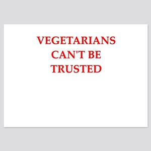 vegetarians 5x7 Flat Cards