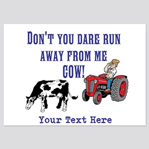 Dont Run away from me Cow! Invitations