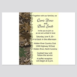 Camo Camouflage Wedding Invitation Invitations