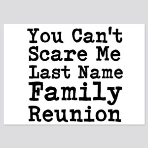 You Cant Scare Me Family Reunion Invitations