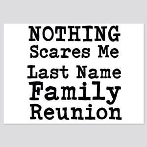 Nothing Scares Me Family Reunion Invitations