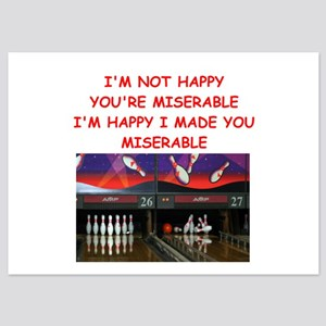 Funny Bowling Invitations And Announcements Cafepress