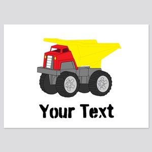 Dump Truck Invitations And Announcements