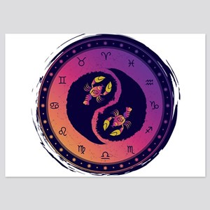 Cancer Fourth Zodiac Sign Yin Yang Invitations