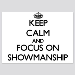 Keep Calm and focus on Showmanship Invitations