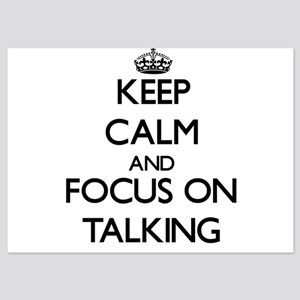 Keep Calm and focus on Talking Invitations