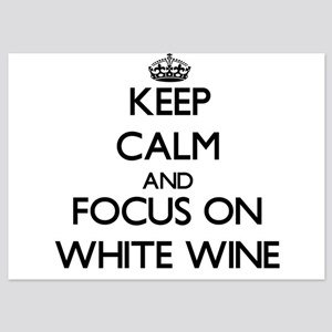 Keep Calm by focusing on White Wine Invitations
