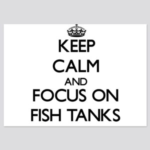 Keep Calm by focusing on Fish Tanks Invitations