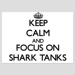 Keep Calm by focusing on Shark Tanks Invitations