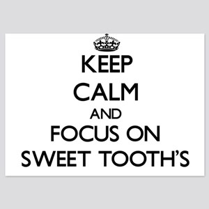 Keep Calm by focusing on Sweet Tooth'S Invitations