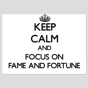 Keep Calm by focusing on Fame And Fort Invitations