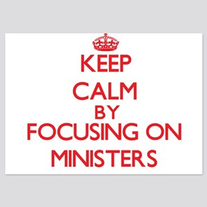 Keep Calm by focusing on Ministers Invitations