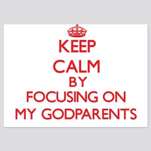 Keep Calm by focusing on My Godparents Invitations