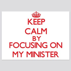 Keep Calm by focusing on My Minister Invitations