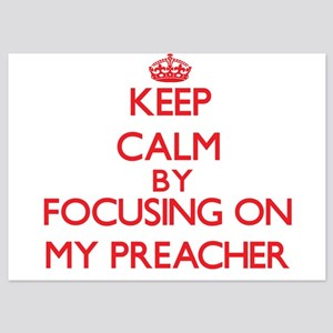 Keep Calm by focusing on My Preacher Invitations