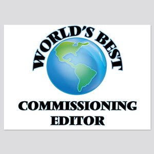 World's Best Commissioning Editor Invitations