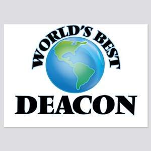 World's Best Deacon Invitations