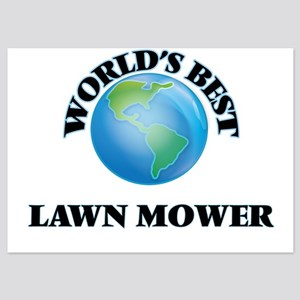 World's Best Lawn Mower Invitations