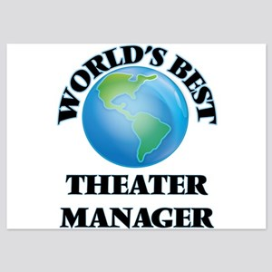 World's Best Theater Manager Invitations