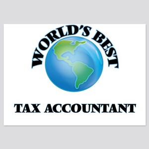 World's Best Tax Accountant Invitations