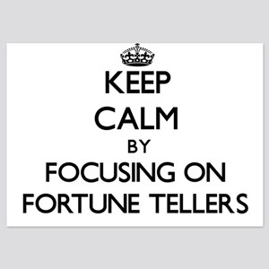 Keep Calm by focusing on Fortune Telle Invitations