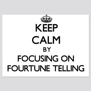 Keep Calm by focusing on Fourtune Tell Invitations