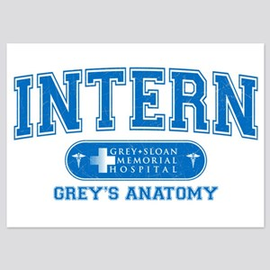 Grey's Anatomy Intern 5x7 Flat Cards